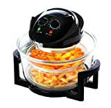 Daewoo Deluxe 12L 1300W Halogen Air Fryer with 60min Timer with Self-Cleaning Function