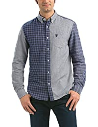 Desigual Leo - Chemise casual - Taille normale - Manches longues - Homme