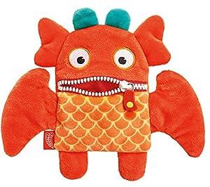 Schmidt Spiele Oki Monstruo Felpa Naranja - Juguetes de Peluche (Monstruo, Naranja, Felpa, Oki, Niño/niña, 175 mm)
