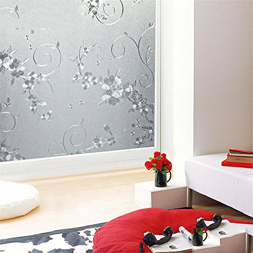 n/Dekoration/Aufkleber Glas/Sticker/WC/Fenster grilles/Glas/Folie/Windows Stickers/Zellophan/Papier/Fenster Papier/Fenster/Aufkleber/Glas Aufkleber, 30 cm * 100 cm ()