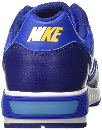 Nike Nightgazer (Gs), Chaussures de Running Compétition Garçon Multicolore (Deep Royal Bleue/Wht-Hypr Cblt)