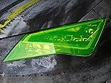 Neon Gelb Scheinwerfer Folie (30x100cm) von Finest-Folia Tönungsfolien Tint Rückleuchten Nebelscheinwerfer