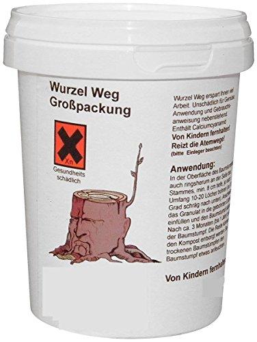 Wurzel-Ex Wurzelvernichter Wurzelentferner Wurzel Vernichter Entferner (450g)