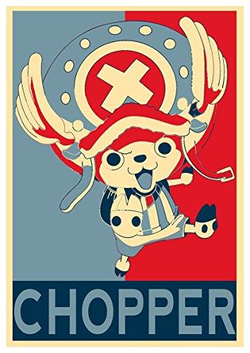 "Poster One Piece\""Propaganda\"" Chopper - A3 (42x30 cm)"