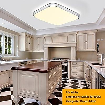 BAYTTER® 12W LED Deckenleuchte Deckenlampe für Esszimmer ...
