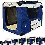 Miganeo® Hundetransportbox klappbar Hundekäfig Käfig Hundebox Transportkäfig Transportbox S-XXXXL (M)