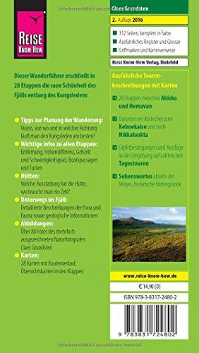 Reise Know-How Wanderführer Kungsleden - Trekking in Schweden In 28 Tagestouren von Abisko nach Hemavan: Alle Infos bei Amazon