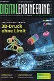 Digital Engineering Magazin 2 2018 3D-Druck ohne Limit Zeitschrift Magazin Einzelheft Konstrukteure Entwickler Ingenieure