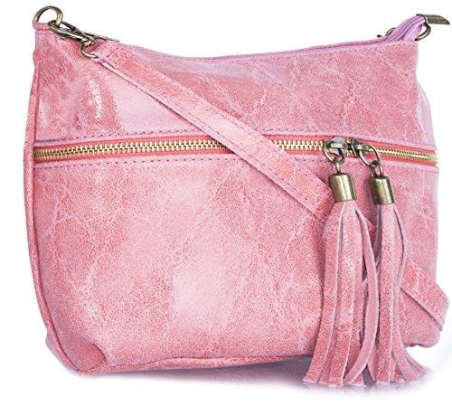 Big Handbag Shop ,  Damen Umhängetaschen Deep Coral