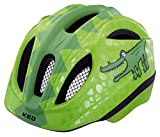 KED Meggy II Trend Helmet Kids Green Croco Kopfumfang
