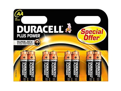 Batterie Alkali Mignon (AA), 1,5V, 8er Pack im Blister, Duracell®