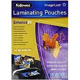 Fellowes 5306207 Pochettes de Plastification ImageLast A3 80 Microns - Paquet de 100 - Modèle aléatoire