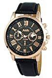 Addic Platinum Classic Black & Rose Gold...