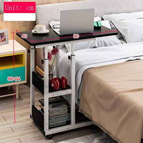 Computer Desk Laptop Schreibtisch für Bett, Bett Schreibtisch | Frühstücks-Serviertablett, Metallklammer-Werktisch, c -