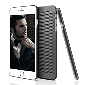 iPhone 6 Case LoHi(TM) Apple iPhone 6 Cover Slim Case Protective Anti-scratch Mesh Flexible PC Anti-fingerprints Back Case for iPhone 6 4.7 Inch High Quality Phone Case Cellphone Accessories with ECO-Friendly Packaging (Gray)