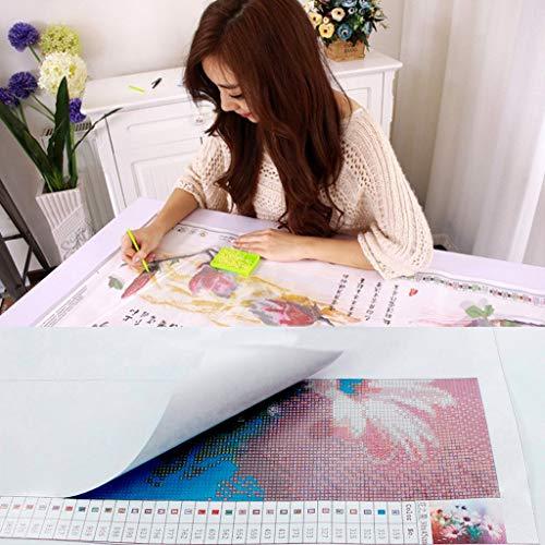 51Pwr8IJnLL - Kit de Pintura de Diamantes 5D completo,Diy 5d diamond painting perros Punto de Cruz de Resina, decoración del hogar para Salones o dormitorios Disney 30 x 40 cm
