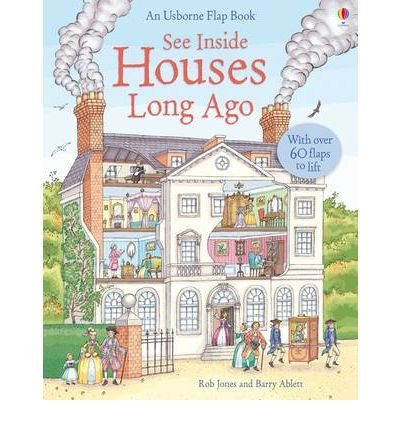 Houses Long Ago (Usborne See Inside) (Hardback) - Common