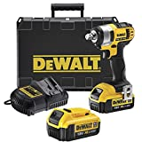 DEWALT DCF880M2-GB XR COMPACT IMPACT WRENCH 18 VOLT WITH 2 -4.0AH LI-ION BATTERIES