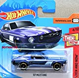 HOT WHEELS Ford Mustang - Ford Oldtimer 1967-1:64 - Farbe: Flieder (HW-Serie 4/10 Then and Now 2018)