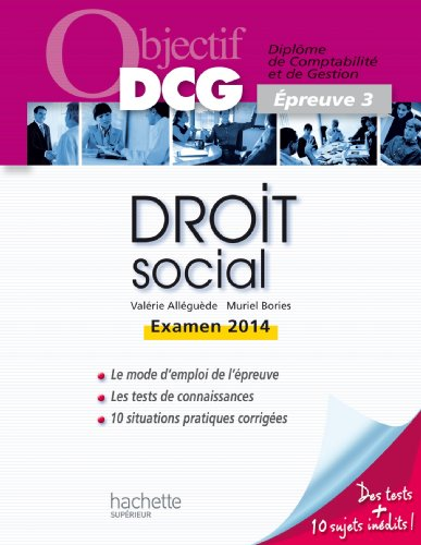 Objectif DCG Droit social 2013/2014