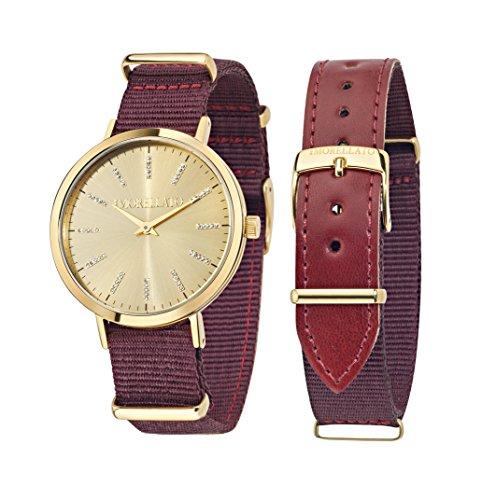 Morellato r0151133502 - orologio da polso donna, pelle, colore: oro