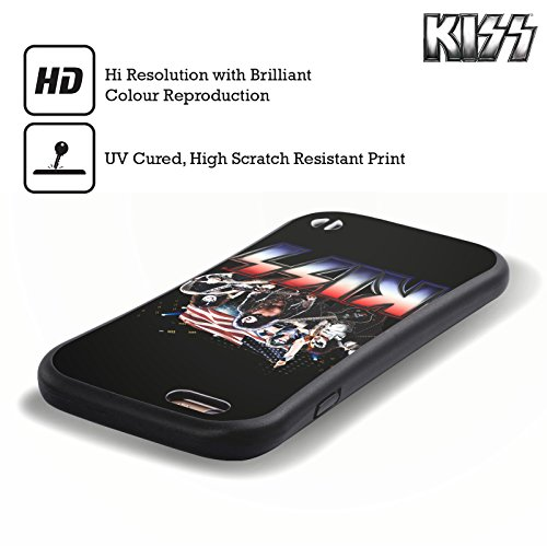 Ufficiale KISS America Posters Case Ibrida per Apple iPhone 7 / 8 America
