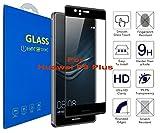 Huawei P9 Plus - 3D Incurvé Verre Trempé Transparent 3D Film Protection en Verre...