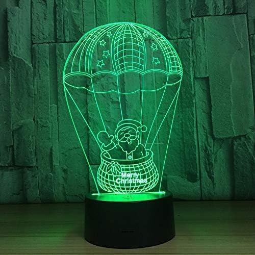 Cadeau créatif Noël Hot Balloon Créatif Créatif Créatif Cadeau Cartoon Nightlight Anniversaire Seven Colors: Touch B07KTT5M2G   Sale  e77578