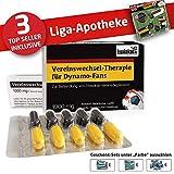 Dynamo Mütze ist jetzt die Liga-APOTHEKE für Dynamo-Fans by Ligakakao.de |Strickmütze schwarz-gelb Logo Emblem Männer-Größe