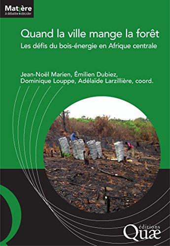 Quand la ville mange la forêt: Les défis du bois-énergie en Afrique centrale (Matière à débattre et décider) par Larzillière Adélaïde