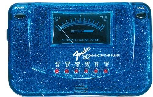 FENDER AG 6 SPARKLE TONE TUNER   BLUE SPARKLE (AZUL)