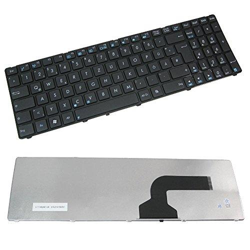 Original Laptop-Tastatur / Notebook Keyboard Ersatz Austausch Deutsch QWERTZ für Asus B53 X55 F55A F55C F75 F75A F75V X55A X55C X55S X55U X55X G51J G51V K53 K53U (Deutsches Tastaturlayout)