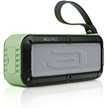 aLLreLi 10W Altavoz Bluetooth con 8 Horas para HuaWei, XiaoMi, Samsung, Nexus, HTC, iPhone y iPad, etc. - ejercito verde