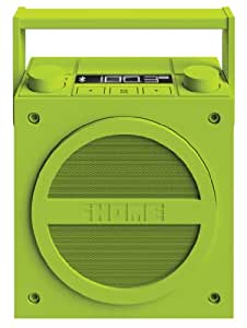 iHome iBT4 Bluetooth Boombox with FM Radio (Green)