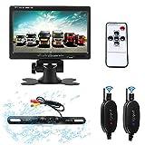 Podofo Wireless-Backup-Kamera-System Rückfahrkameras (7 Zoll Drahtlose Rückfahrkamera System)