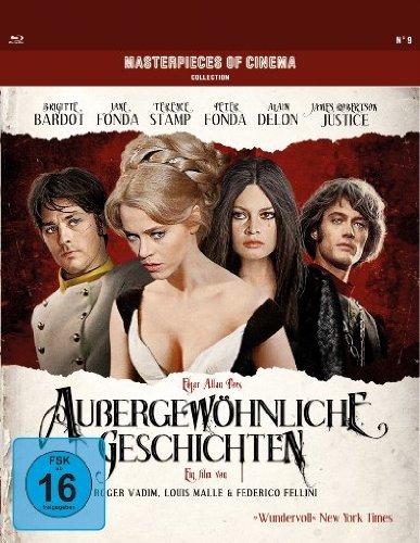 Bild von Außergewöhnliche Geschichten - Masterpieces of Cinema Collection [Blu-ray]