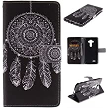 Nutbro [LG G2] LG Optimus G2 Case,LG G2 Wallet Case PU Leather Wallet Case Cover with Card Slots and Stand Function for LG Optimus G2