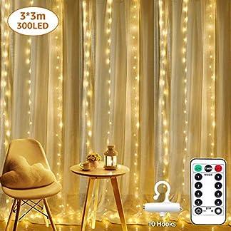 LE Guirnaldas Luces LED Cobre, Blanco Cálido, Decoración de casa, Boda, Fiestas, Navidad, Jardines