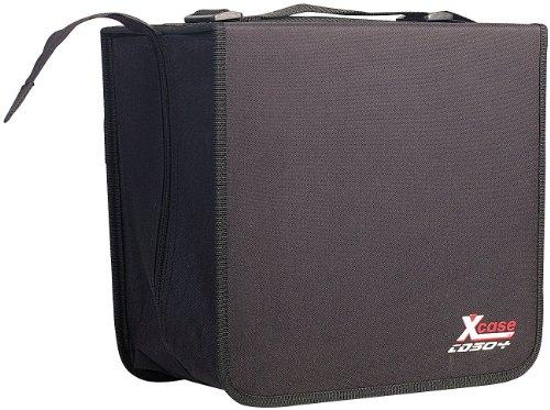 Xcase CD Koffer: CD/DVD/BD-Tasche für 504 CD/DVD/BDs (CD Ordner) -