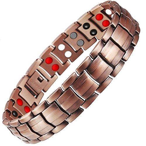 yiwa Creative Unisex Gesundes Kupfer + Magnet Armband Fatigue strahlenabweisend Armband
