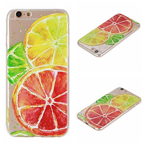 Voguecase® Per Apple iPhone 6/6S 4.7, Custodia Silicone Morbido Flessibile TPU Custodia Case Cover Protettivo Skin Caso (unicorno 02) Con Stilo Penna Limone 04