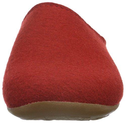 11 Rosso Rot Unisex Haflinger rubin Fundus Pantofole 7tqwAY