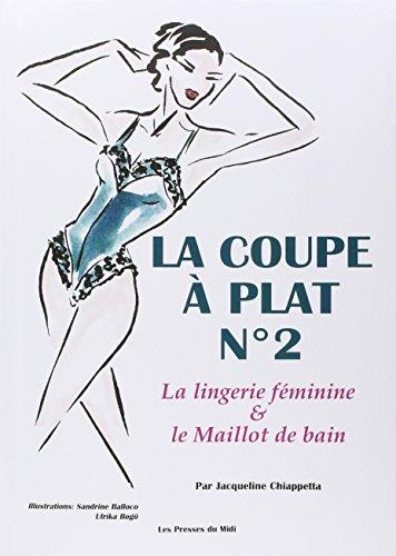 La coupe à plat, numéro 2. Lingerie féminine et maillot de bain par Chiappetta