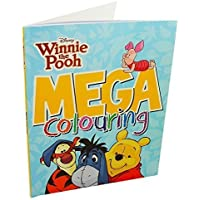 Disney Winnie the Pooh: Mega Colouring Book