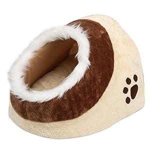 yahee chien ou chat niche Douillette chat Panier Lit pour animal avec doux et agréable Taie d'oreiller