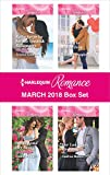 Harlequin Romance March 2018 Box Set: Baby Surprise for the Spanish Billionaire\Beauty and Her Boss\A Baby in His In-Tray\Her Las Vegas Wedding (English Edition)