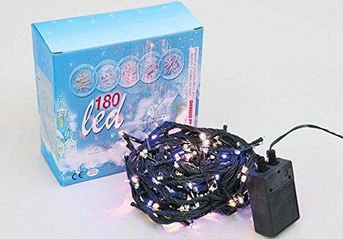 180Lichter weiß LED Innenraum Spiele Licht 9MT + 1.5Weihnachten Baum ena2178# ccn17