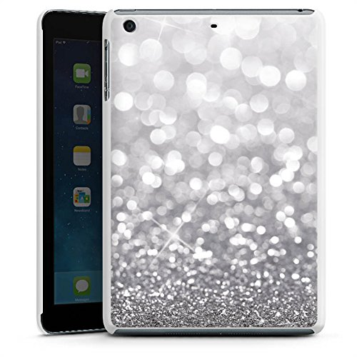 apple-ipad-mini-3-hulle-schutz-hard-case-cover-silber-glitzer-glitter