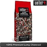 Weber–Lump Holzkohle 10kg von Holz