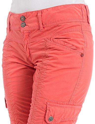 Timezone Damen Bermuda Holidaytz 3/4 Pants Rot (blooming coral 5191)